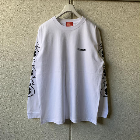 5656WORKINGS/I NEED $  L/S UNIFORM_WHITE
