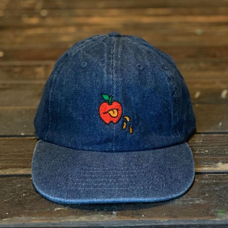 5eL6WORKINGS/BELLO APPLE CAP_DENIM