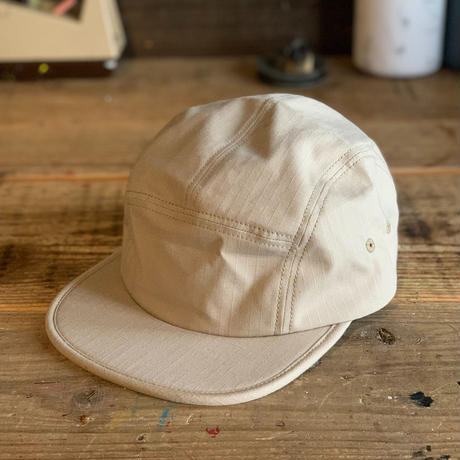 Brownie/RIPSTOP 5PANEL CAP_BEIGE