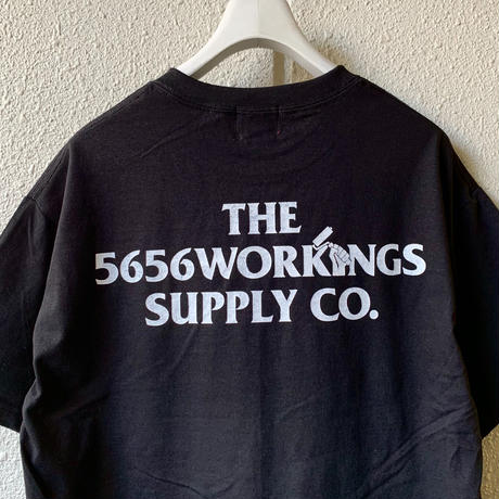 5656WORKINGS/BANDANNA POCKET's UNIFORM_BLACK