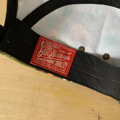 KABEKUI×5656WORKINGS/KABEKUI CAMO 5PANEL CAP