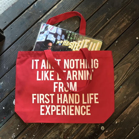 5656WORKINGS/DPM TOTE BAG_RED