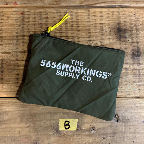 5656WORKINGS/TOOL POUCH_ARMY GREEN