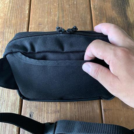 5656WORKINGS/BOX WAIST BAG_BLACK
