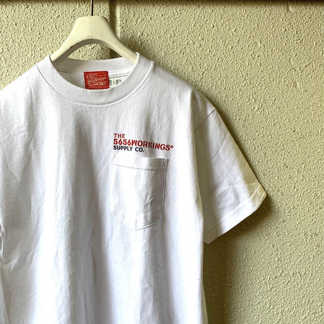 5656WORKINGS/CWS POCKET's UNIFORM_WHITE