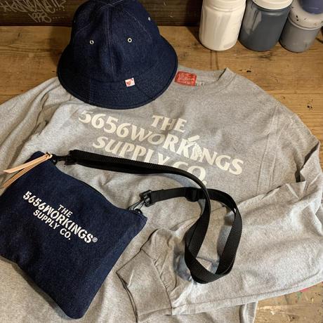 5656WORKINGS/TOOL SHOULDER BAG_DENIM