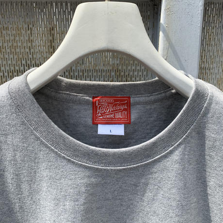 5656WORKINGS/FTP BOX LOGO Tee_GRAY