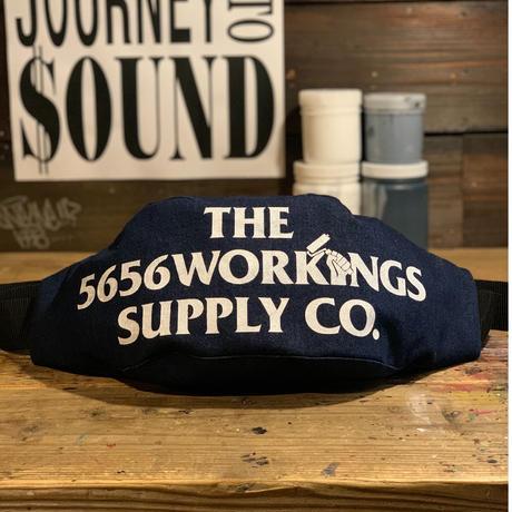 5656WORKINGS/NO.56 CREW CCP BAG_DENIM
