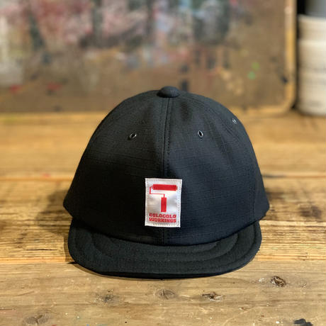 5656KIDS/TM LOGO WORK CAP_BLACK
