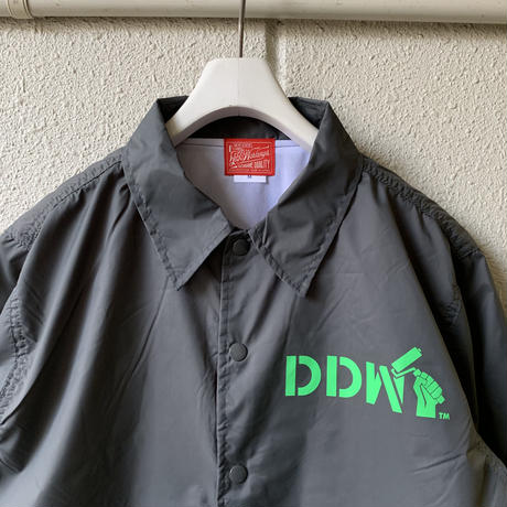 5656WORKINGS/DDW TEAM NYLON JKT_CEMENT