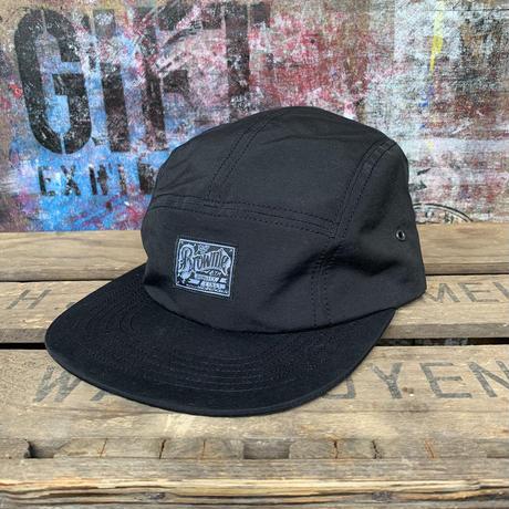 Brownie/5PANEL CAP_BLACK