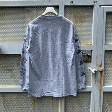 5656WORKINGS/PD TEAM  L/S UNIFORM_GRAY