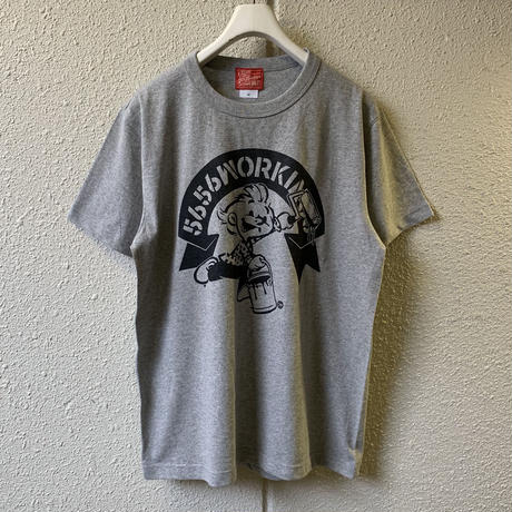 5656WORKINGS/5656BOY 20th ANNIVer. TEE_GRAY
