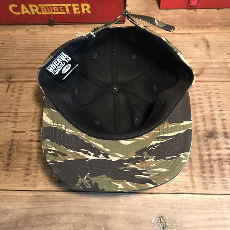 NOCARE6PANEL BASEBALL CAP/ TIGER CAMO