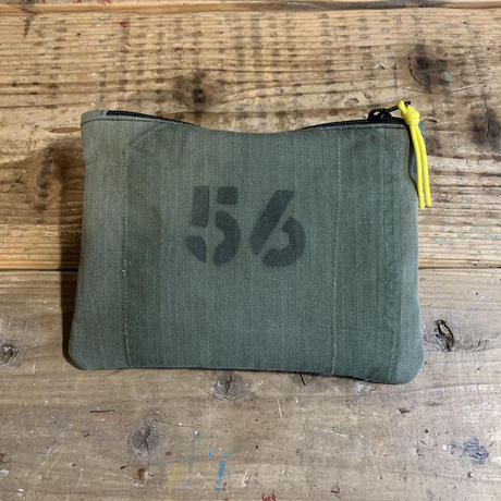 【一点物】5656WORKINGS/TOOL POUCH_HERRIN BONE_ARMY GREEN