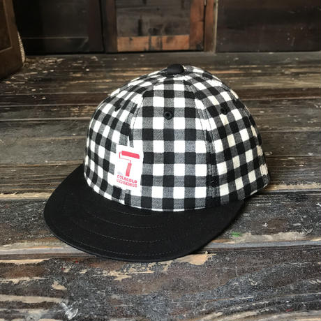 5656WORKINGS/B&W CHECK CAP
