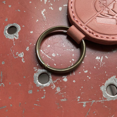 5656WORKINGS/FTP LEATHER KEY HOLDER