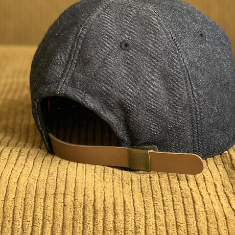 5656WORKINGS/QUILTING WORK CAP_DENIM