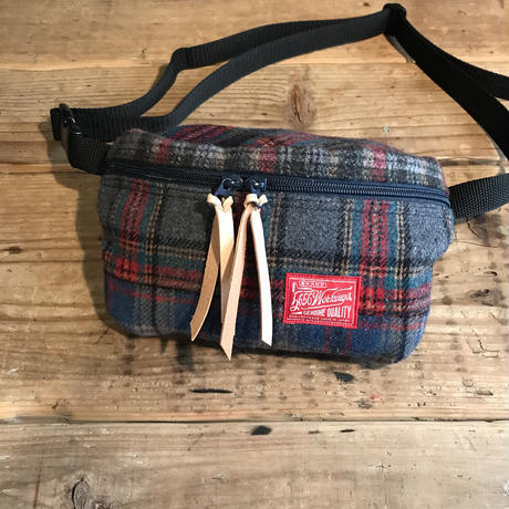 5656WORKINGS/CRAZY CHECK BAG