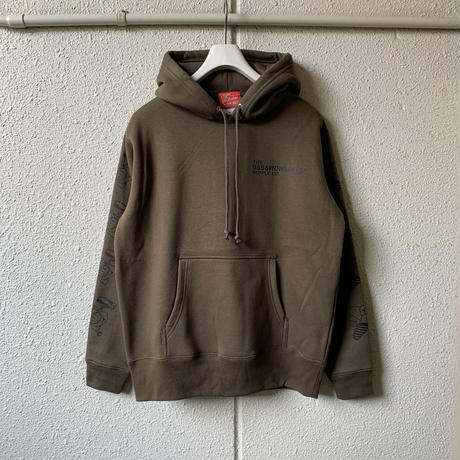 5656WORKINGS/PD TEAM HOODIE_OLIVE