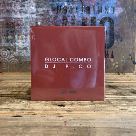 【MIX CD】GLOCAL COMBO/DJ P.CO