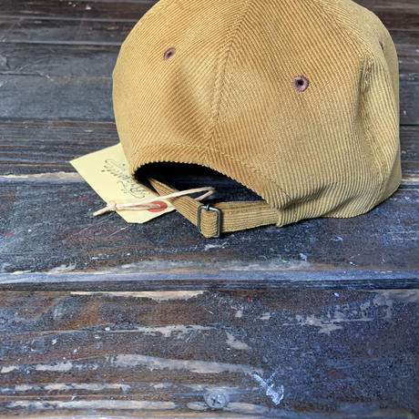 Brownie/All Day Chill CORDUROY CAP_LIGHT BROWN
