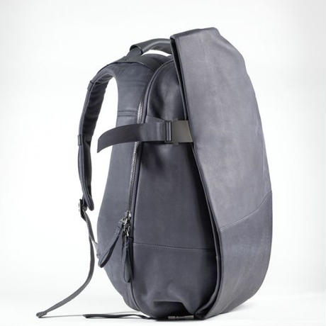 【28390】ISAR ALIAS  COWHIDE LEATHER - Graphite Grey   Cote&Ciel  コートエシエル 本革リュックサック