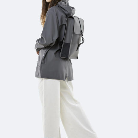 ★Rains☆【1280】  Back Pack Mini - Charcoal    (S Size)   レインズ   バックパック ミニ