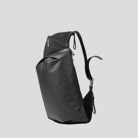 【28397】GIRONDE  COATED CANVAS - Black  Cote&Ciel コートエシエル ボディバッグ