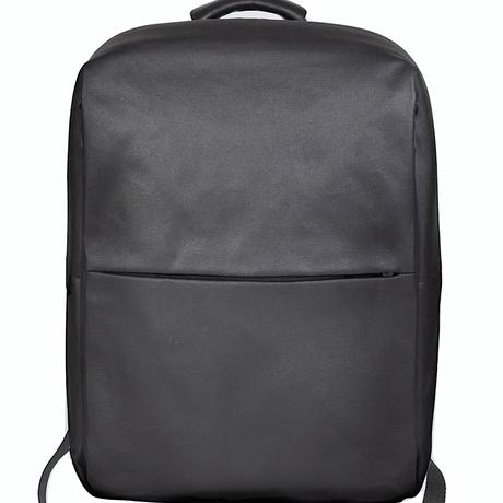 【28332】特価品★RHINE Flat Backpack Coated Canvas Black Cote&Ciel コートエシエル リュックサック