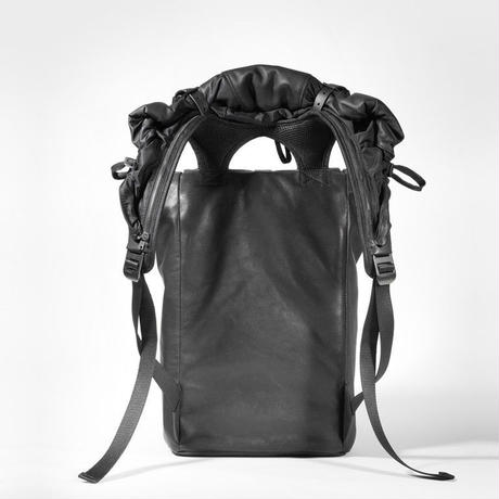 【28461】TIGRIS ALIAS  COWHIDE LEATHER本革 - Agate Black   Cote&Ciel コートエシエル リュックサック