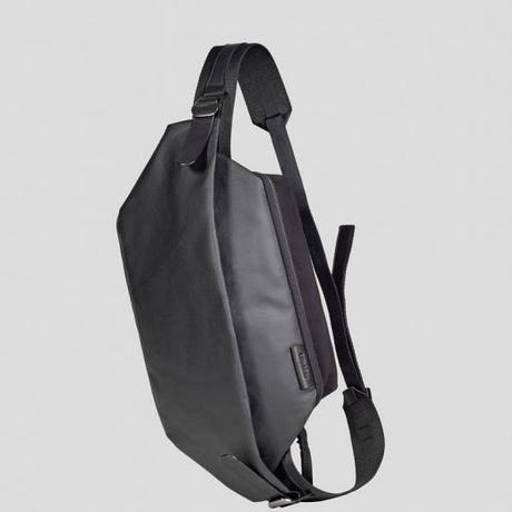 【28395】ISARAU  COATED CANVAS - Black 【SALE】Cote&Ciel コートエシエル ボディバッグ