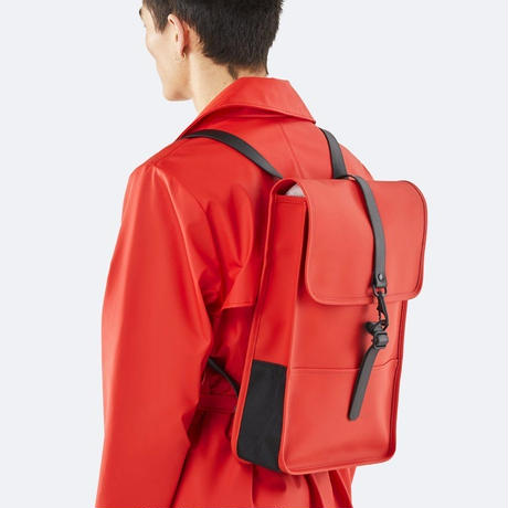 ★Rains☆【1280】  Back Pack Mini - Red   (S Size)   レインズ   バックパック ミニ