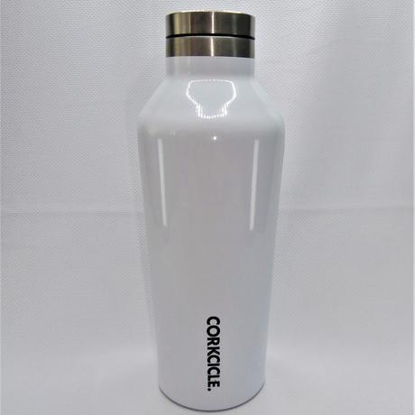 【ジムに持っていくのにちょうどいい!ユニセックスなホワイトカラー】保冷保温ステンレス製ボトル ホワイト 270ml