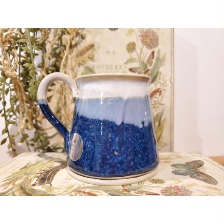 【アイルランド キルケニー】 Castle Arch Pottery マグカップ 台形