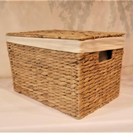 【ボックス】WHストックボックスS【収納 カラーボックス ナチュラル ガーリー 子供部屋 かご】