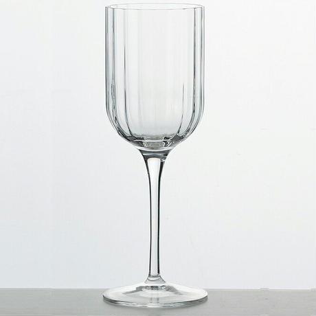 【スタイリッシュな見た目に一目惚れ】ホワイトワイングラス【イタリア製のグラスでイタリア産ワインを。】