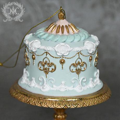 S20 レジンケーキオーナメント  ブルー