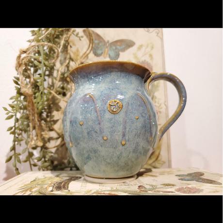 【アイルランド キルケニー】 Castle Arch Potteryマグカップ【ハンドメイド 陶器 輸入雑貨 プレゼント】