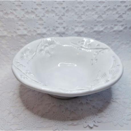 【イタリア陶器】ラ・セラミカ フラワーボウル【ボタニカルな柄は店主の趣味です】