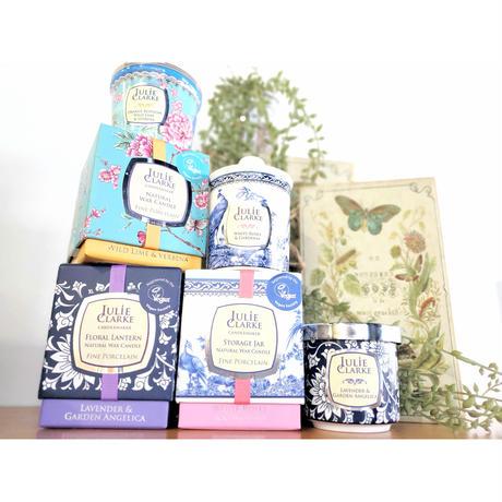 アイルランド直送【julie clarke】ボタニカルアロマキャンドル 香り3種類【天然素材 オーガニック ハンドメイド ろうそく ヨーロッパ輸入 癒しグッズ】