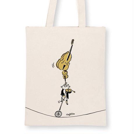 音楽トートバッグ-弦楽演奏 音楽雑貨