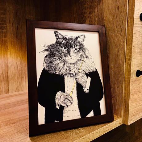 クラシックキャット肖像画  - 指揮者|音楽雑貨