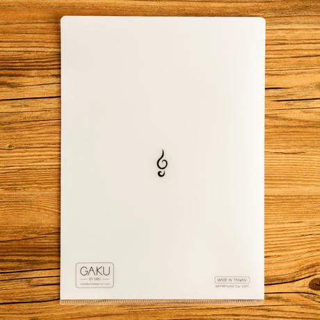 楽-『トランペット』クリアファイル|音楽雑貨