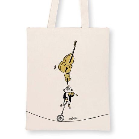 音楽トートバッグ-弦楽演奏|音楽雑貨