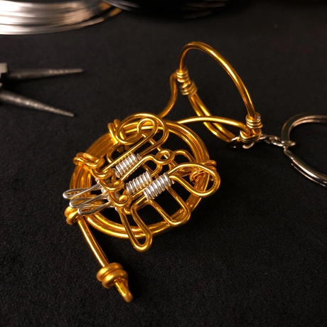楽器ワイヤーストラップ -  ホルン|音楽雑貨