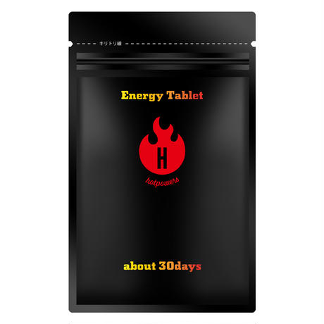 Energy Tablet エナジータブレット (60粒)【code:hop-S001】