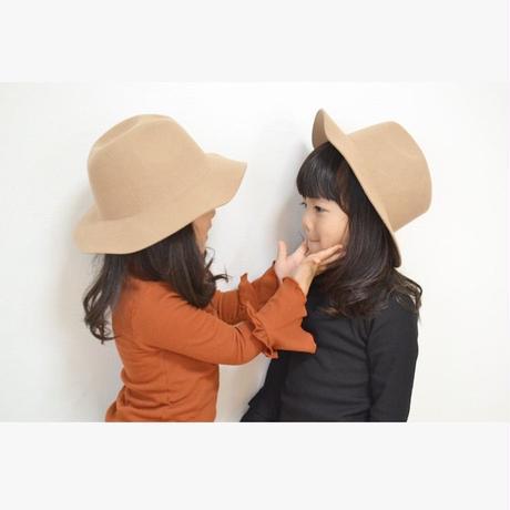 kids☻袖2段フリルシンプルリブトップス【カラバリ3色】