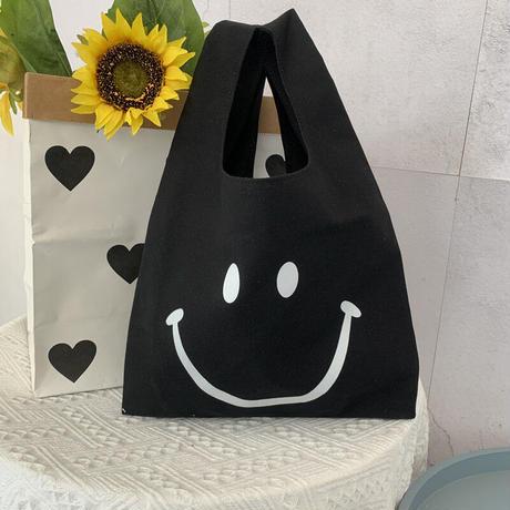 先着50名様♥3.000円以上購入でプレゼント【ノベルティ】ニコちゃんプリントトートバッグ