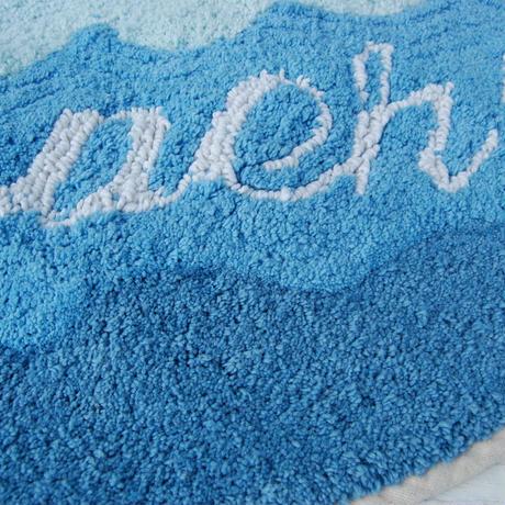 サーフボードマット BEACH ブルー